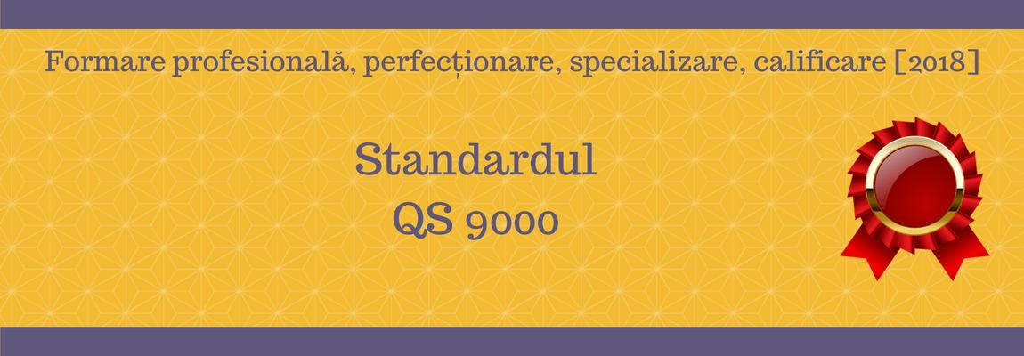Standardul QS 9000